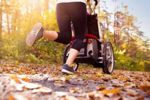 postnatal return to running